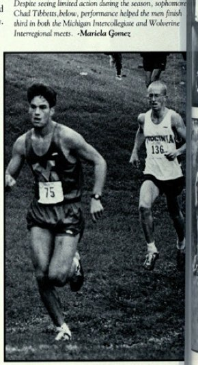 UM Cross Country 1993