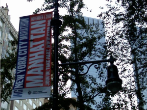 Banners are going up all over city!
